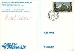 1981  Österreichische Himalata-Expedition 1981  Signiert - Nepal