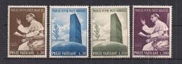 VATICANO     1965     O.N.U.       SASS.416-419      MNH      XF - Vaticano