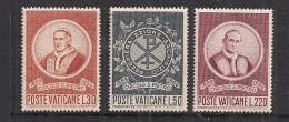 VATICANO     1969        FONDAZIONE CIRCOLO DI SAN PIETRO      SASS. 476-478      MNH    XF - Vaticano