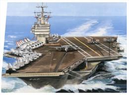 (889) Aircraft Carrier Nimitz - Porte Avions - Warships