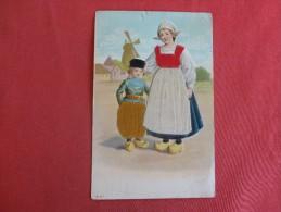 Silk Added-  Dutch Embossed  US Stamp & Cancel    Ref-1346 - Fancy Cards