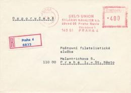 I4611 - Czechoslovakia (1979) Praha 4: GLASS UNION; Kavalier Glass Works; Concern Company; Factory Praha - Vetri & Vetrate