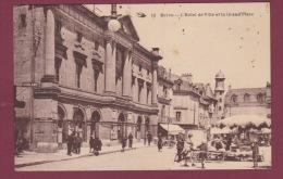 19 - 180614 - BRIVE - HOTEL DE VILLE ET GRAND PLACE - Marché - Brive La Gaillarde