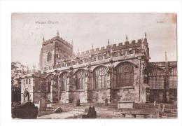 RP Malpas Church  Near Whitchurch USED 1919 CHESHIRE - England