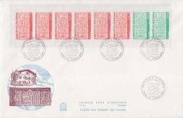 = Carnet Oblitéré Sur Enveloppe 1er Jour 28.3.87 Carnet N°1 Et Timbres 356 357 - FDC