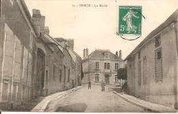 89 - ORMOY,  LA MAIRIE - ECRITE 1910