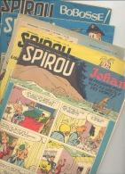 BD - Lot De 5 Magazines SPIROU De 1956- Détails, Voir Descriptif (b147) - Spirou Magazine