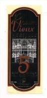 Etiquette  Rhum Vieux Agricole De La REUNION - 5 Ans D'âge - 40% 50 Cl - Charles ISAUTIER - - Rum