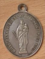 Médaille Religieuse Diocèse De Saint-Claude 1897 - Francia