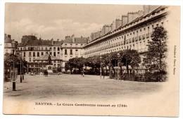CP, 44, NANTES, Le Cours Cambronne (ouvert En 1789), Dos Simple, Voyagé En 1903 - Nantes