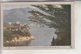 I 16038 SAN MARGHERITA LIGURE, Blick V. D. Villa Pagara, Miethe Aufnahme - Italien