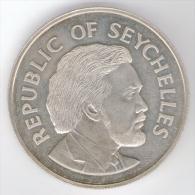 SEYCHELLES 25 RUPEES 1977 SILVER JUBILEE AG - Seychelles