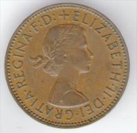 GRAN BRETAGNA HALF PENNY 1962 - C. 1/2 Penny