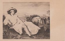 Künstlerkarte AK Tischbein Aus Dem Goethehause Goethe Weimar 1788 - Künstlerkarten