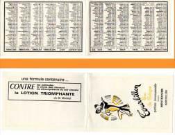 Carte Parfumée, Tourbillon, Eau De Cologne, Monternier, Montpellier (dépliante, Calendrier 1970) - Cartes Parfumées