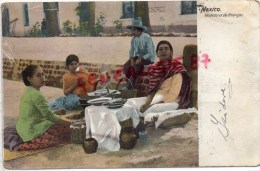 AMERIQUE - MEXIQUE - MEXICO - VENDEDORAS DE FRITANGAS - CARTE PRECURSEUR - Mexique