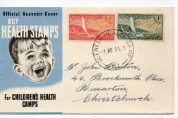Carta De New Zeland De 1951 - Cartas