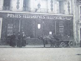 "91 - ETAMPES -  "" POSTES - TELEGRAPHES - TELEPHONES ""  - HOTEL DE LA POSTE - BELLE CARTE - - Etampes"