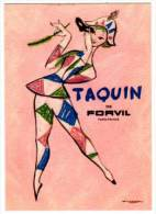 Carte Parfumée, Taquin De Forvil - Cartes Parfumées