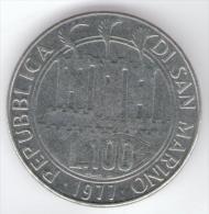 SAN MARINO 100 LIRE 1977 - San Marino
