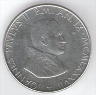 VATICANO 100 LIRE 1987 - Vaticano