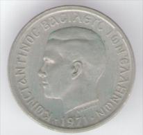 GRECIA 50 LEPTA 1971 - Grecia