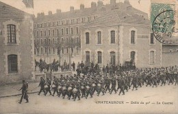 36 CHATEAUROUX  Défilé Du 90e - La Caserne - Chateauroux