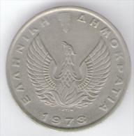 GRECIA 10 DRACHME 1973 - Grecia