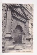 Cpa FLORAC Porte Du Couvent Ed Mejean Coiffeur - France