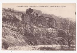 Cpa MONTPEZAT SOUS BAUZON Chateau De Pourcheyrolles - Autres Communes