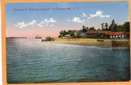 Corinto Nicaragua 1910 Postcard - Nicaragua