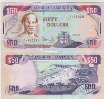 Jamaica 50 Dollars 2010 Pick 83 UNC - Jamaica