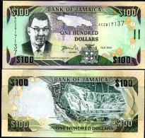 Jamaica 100 Dollars 2006 Pick 86 UNC - Jamaica