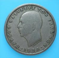 Greece 5 Drachmai 1954 - Griekenland