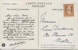TP 108 Roulette  Brussel/Bruxelles 13 S/CP Publicitaire Collection Swor V. Uccle  PR758 - Precancels