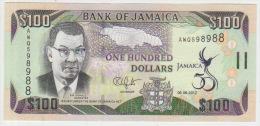 Jamaica 100 Dollars 2012 Pick NEW UNC - Giamaica
