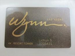 Wynn Las Vegas - Casino Cards