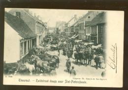 Thourout - Thorhout - Torhout  : Zuidstraat Daags Voor Sint - Pietersfeeste   -  D.V.D. N°8920 - Torhout