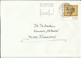 ALEMANIA CC MAT EXPO 2000  BRIEFZENTRUM 30 - 2000 – Hanover (Germany)