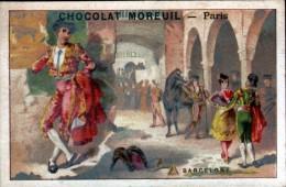 CHROMO - CHOCOLAT MOREUIL - BARCELONE - Chocolat
