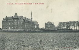 Hannut - Le Couvent, Chaussée De Namur - 1909 ( Voir Verso ) - Hannut