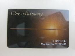 Hotel Okura Nikko Hotels Hotel JAL City, One Harmony Card - Cartas De Hotels