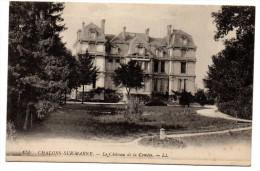 CP, 51, CHÂLONS-sur-MARNE, Le Château De La Comète, Ecrite En 1916 - Châlons-sur-Marne