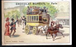 CHROMO - CHOCOLAT MOREUIL -BEAU TEMPS COMPLET - Chocolat