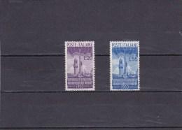 ITALIE 1950- N°561 Et 562 Neufs - Conférence De La Radio à Haute Fréquence (voir Scans) - 1946-60: Nuevos