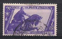 REGNO D'ITALIA   1932   MARCIA SU ROMA   SASS. 332     USATO   VF - 1900-44 Victor Emmanuel III