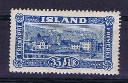 Iceland: 1925 Mi 118 MH/*, Signed/ Signé/signiert/ Approvato - 1918-1944 Autonoom Bestuur