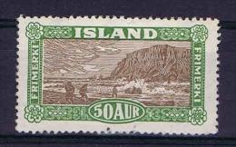 Iceland: 1925 Mi 119 MH/* - 1918-1944 Autonoom Bestuur