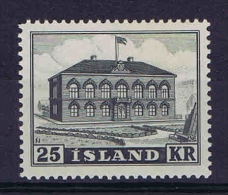 Iceland: 1952 Mi 277 MNH/** - Ongebruikt