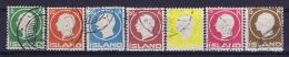 Iceland: 1912 Mi 69-75,  Used - 1918-1944 Autonoom Bestuur